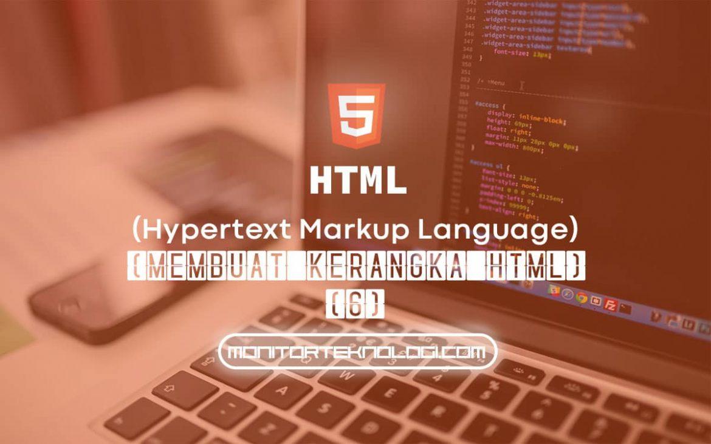 Kerangka HTML