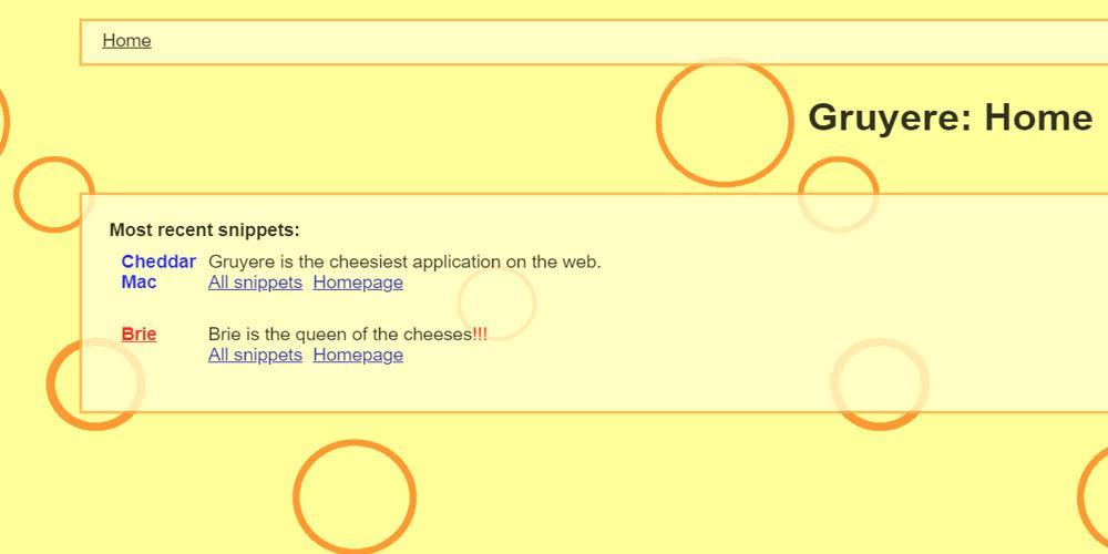 Google Gruyere