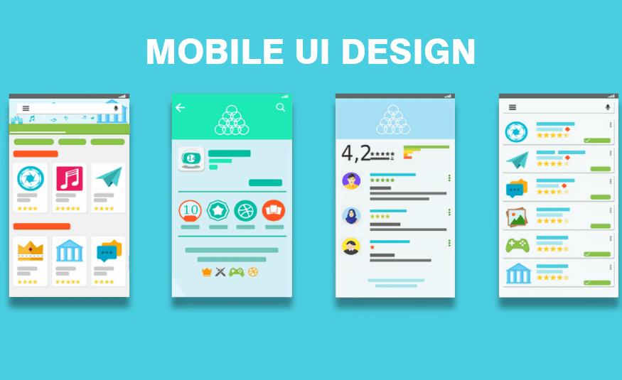 Contoh UI Design