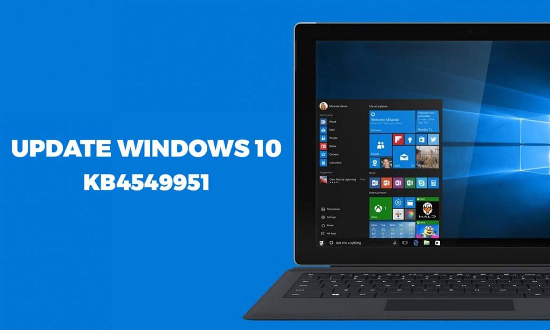 Windows 10 KB4549951