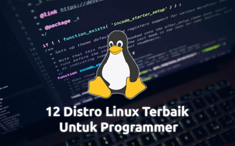 Distro Linux Terbaik Untuk Programmer