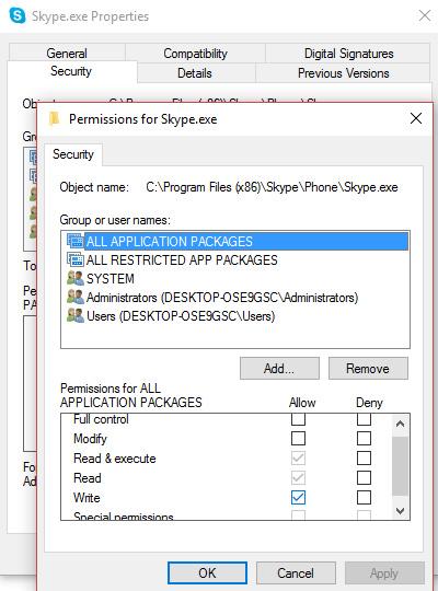 Periksa Apakah Skype Memakan Sumber Daya Disk