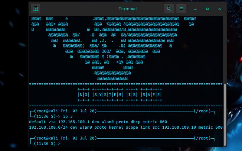 Perintah IP Linux