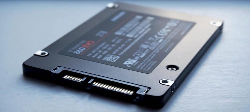 Upgrade Firmware Untuk SSD