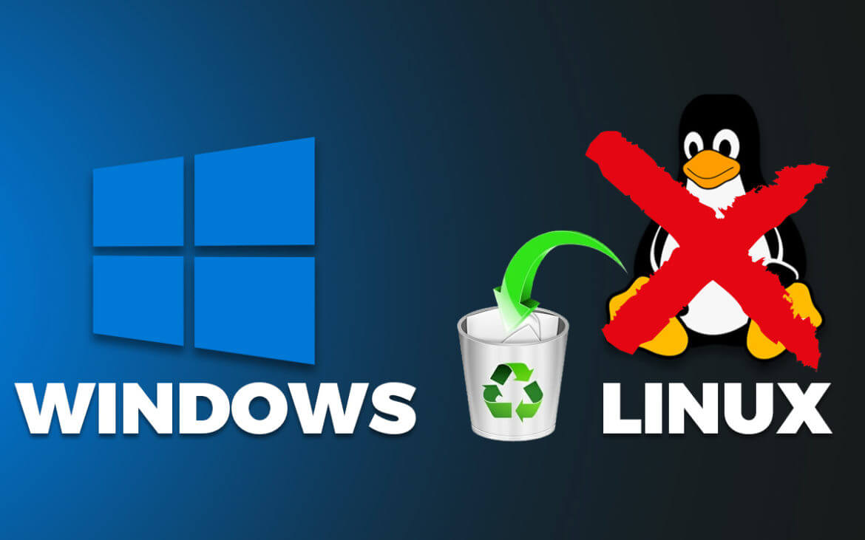 Cara Menghapus Dual Boot Linux