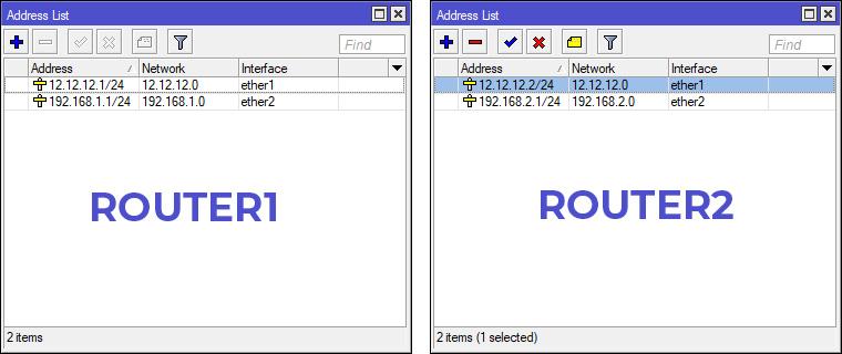 Konfigurasi IP Router Winbox